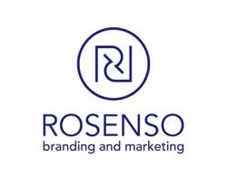 Rosenso branding and marketing